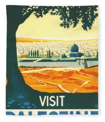 Palestine Fleece Blanket
