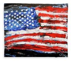 Palette Of Our Founding Principles Fleece Blanket