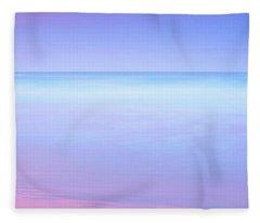 Palette Of Paradise Fleece Blanket