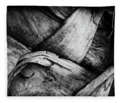 Palm Bark Fleece Blanket