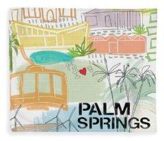 Palm Trees Fleece Blankets