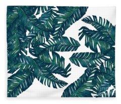 Palm Tree 7 Fleece Blanket