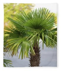 Palm Tree Just There Fleece Blanket