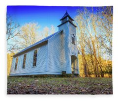 Palmer Chapel Methodist Church Fleece Blanket