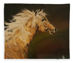 Palomino Running Wild                     85 Fleece Blanket