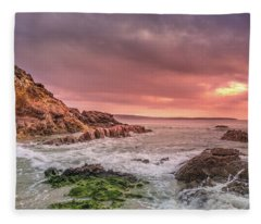 Pambula Rocks Fleece Blanket
