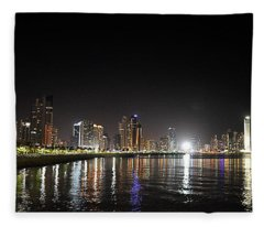 Panama City Night Fleece Blanket