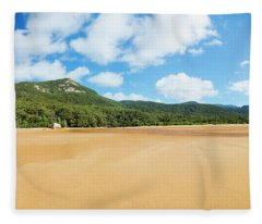Panorama Of Sealers Cove Landscape Fleece Blanket