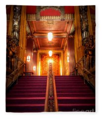 Pantages Theater's Grand Staircase Fleece Blanket