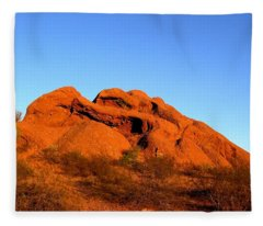 Papago Park 2 Fleece Blanket