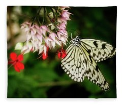 Paper Kite Fleece Blanket