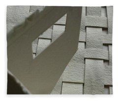 Paper Structure-2 Fleece Blanket