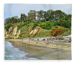 Paradise Cove Panorama Fleece Blanket