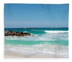 Paradise Island Fleece Blanket