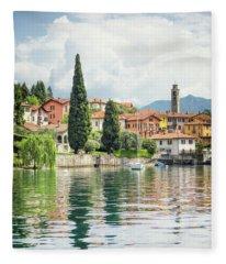 Paradise Reflections Fleece Blanket