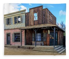 Paramount Ranch Bank Fleece Blanket
