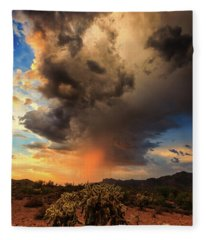 Fleece Blanket featuring the photograph Parched by Rick Furmanek