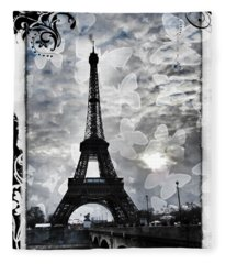 Paris Fleece Blanket