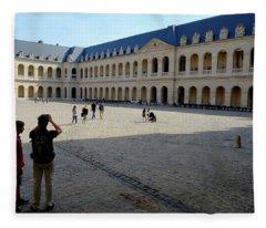Paris Military Museum Fleece Blanket