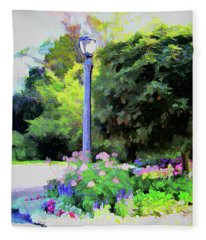 Park Light Fleece Blanket