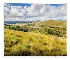 Parting Creek Regional Reserve Tasmania Fleece Blanket