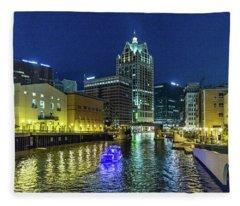 Party Boat Fleece Blanket