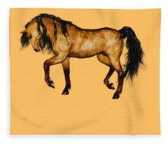 Paso Fino Fleece Blanket
