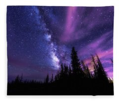 Passing Hours Fleece Blanket