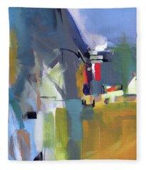 Past The Doorway Fleece Blanket