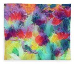 Pastel Fleece Blanket