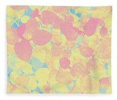 Pastel Pattern Fleece Blanket