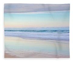 Pastel Reflections Fleece Blanket