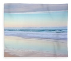 Pastel Reflections Fleece Blanket