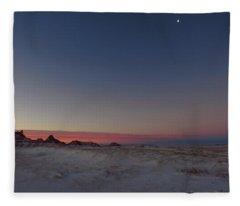 Pastel Winter Fleece Blanket