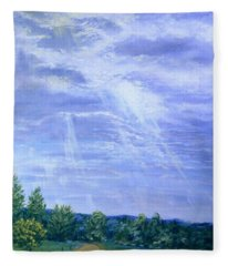 Pasture Lane Fleece Blanket