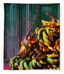 Fleece Blanket featuring the photograph Patacon by Skip Hunt