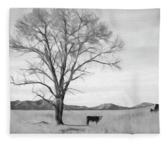 Patagonia Pasture Bw Fleece Blanket