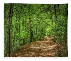 Path Less Travelled Fleece Blanket