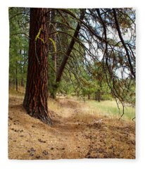 Path To Enlightenment 2 Fleece Blanket