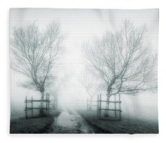 Path To Nowhere II Fleece Blanket