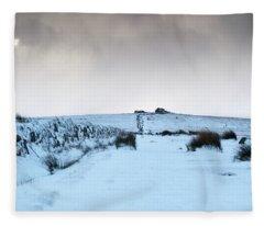 Path To South Hessary Tor II Fleece Blanket