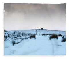 Path To South Hessary Tor II Fleece Blanket