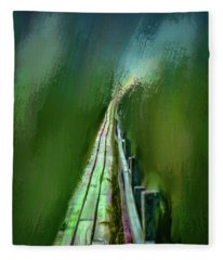 Path To The Unknown #h5 Fleece Blanket