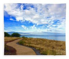 Pathway To Heaven Fleece Blanket