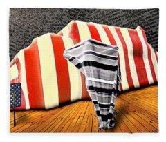 Patriot Sack Fleece Blanket