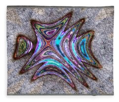Paua Medallion Fleece Blanket