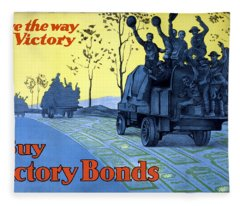 Pave The Way To Victory Fleece Blanket