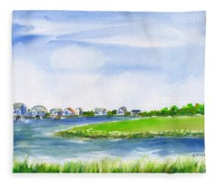 Pawleys Island South Causeway Fleece Blanket