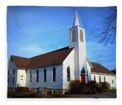 Peace Church Fleece Blanket