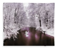 Peace On Earth   Fleece Blanket
